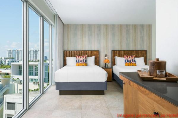 Loft com 2 Queen Size no Washington Park South Beach em Onde Se hospedar em Miami