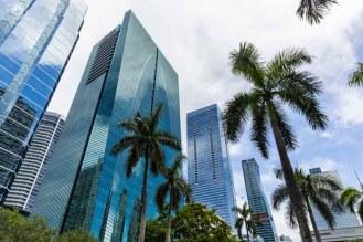 Prédios da Brickell em atrações em Miami
