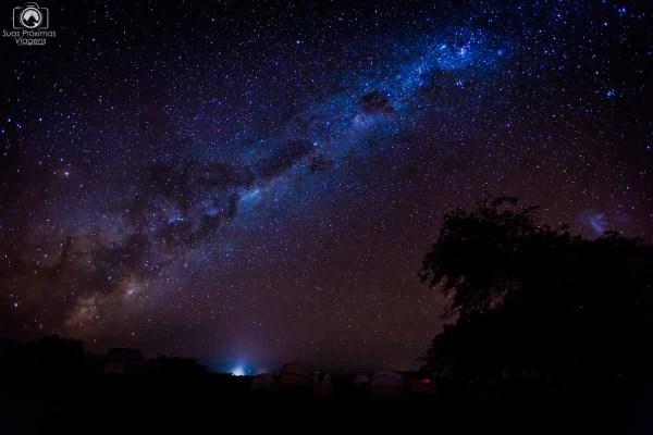 Céu Estrelado no Roteiro de 5 dias no Deserto do Atacama