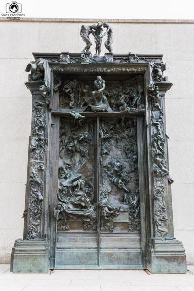 Portal do Inferno de Rodin em melhores dicas de Paris