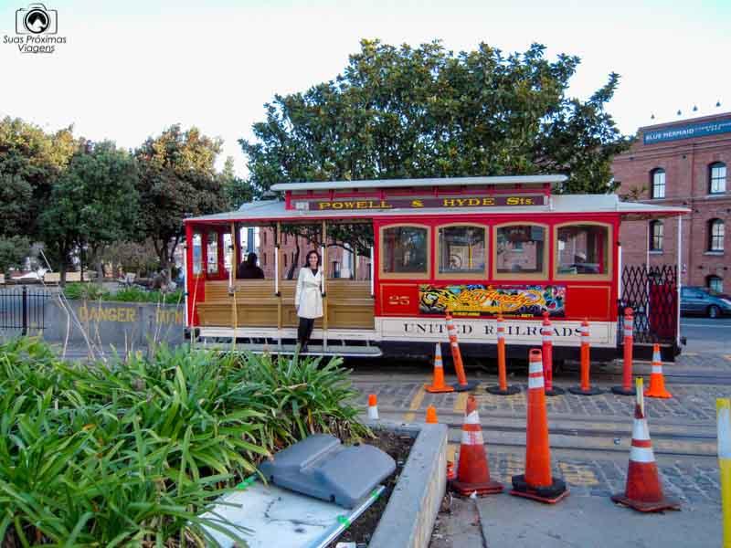 Cable Car em O que fazer em San Francisco California