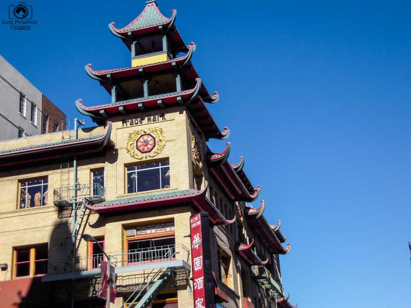 imagem de chinatown em San Francisco