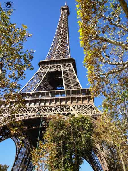 Torre Eiffel em Pontos Turísticos de Paris