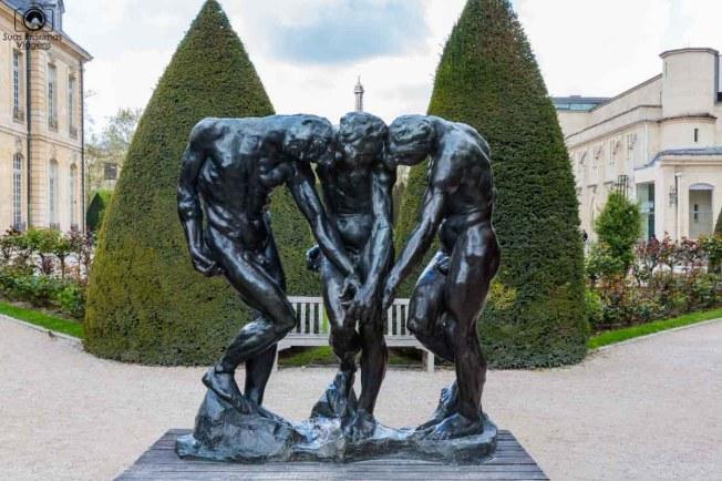As Três Sombras de Rodin em O Que Fazer em Paris