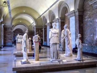 Ala Denon do Louvre em O Que Fazer em Paris