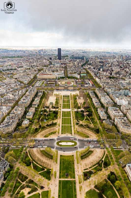 Campo de Marte no roteiro de 5 dias em Paris