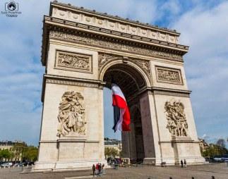 Arc de Triumph em uma viagem para Paris