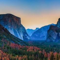 El Capitan no Yosemite National Park