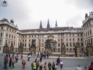 Entrada do Castelo em o que fazer em Praga