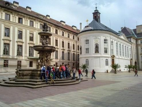 Interior do Castelo de Praga