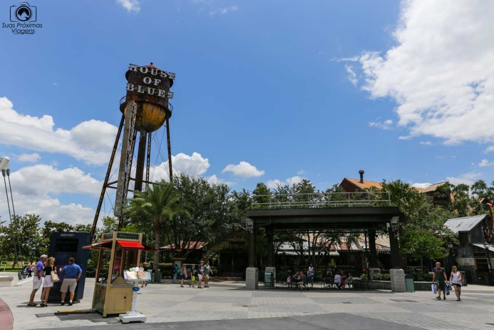 House of Blues no Disney's Springs em Parques em Orlando
