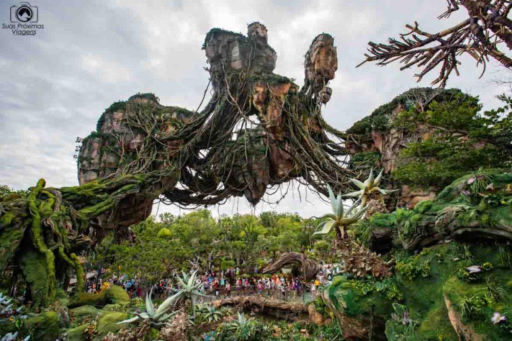 O mundo de Avatar no Animal Kingdom em o que fazer em Orlando