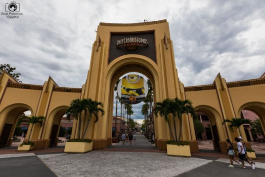 Entrada do Universal Studios no Parques em Orlando