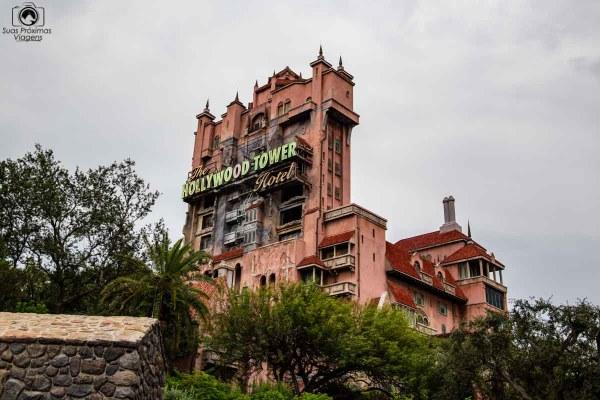 The Hollywood Tower Hotel no Hollywood Studios nos parques da disney orlando