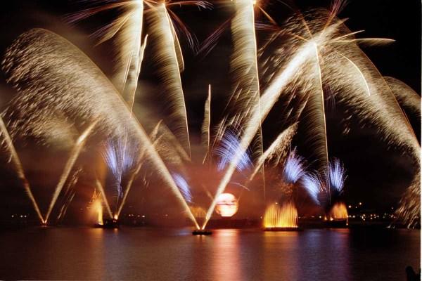 Show IllumiNations em Epcot em Parques da Disney