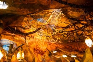 Ambiente da Fila Interna no Avatar nos parques da Disney