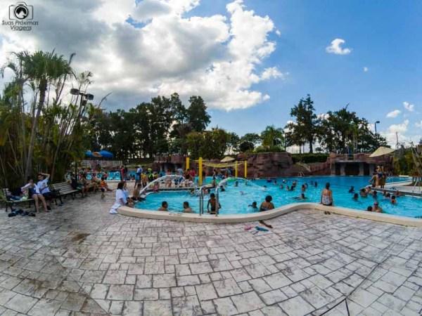 Paradise Lagoon no Adventure Island Tampa
