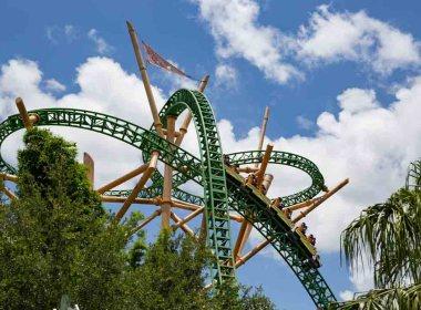 Cheetah no Busch Gardens uma das Melhores montanhas-russas da Flórida