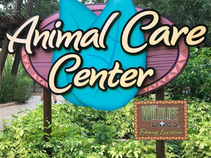 Animal Care Center no Busch Gardens