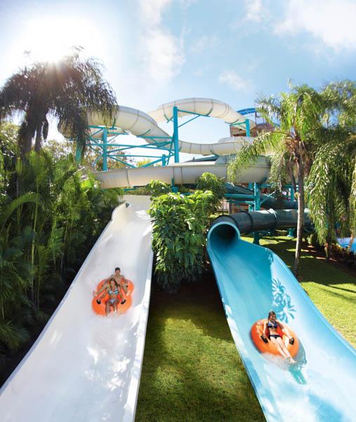 Calypso Coaster & Aruba Tuba - Foto Provida por Adventure Island