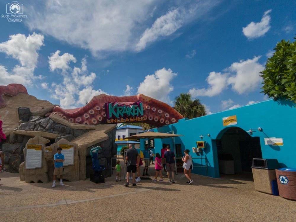 Kraken no SeaWorld Orlando