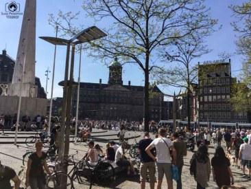 Alvoroço Estudantil no Feriado em o que fazer em Amsterdam