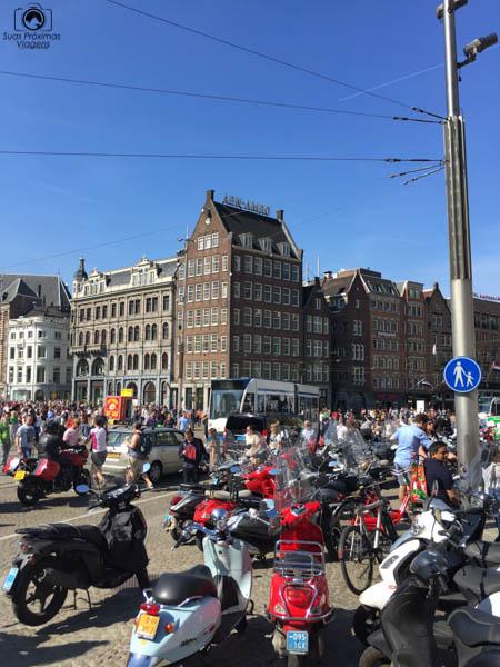 Alvoroço Estudantil no Feriado nas Melhores dicas de Amsterdam