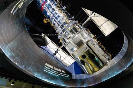 Réplica do Telescópio Hubble no Kennedy Space Center