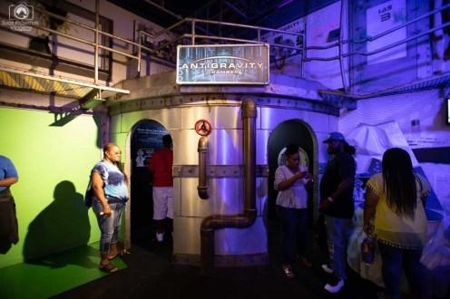 Câmara Gravitacional no Wonderworks