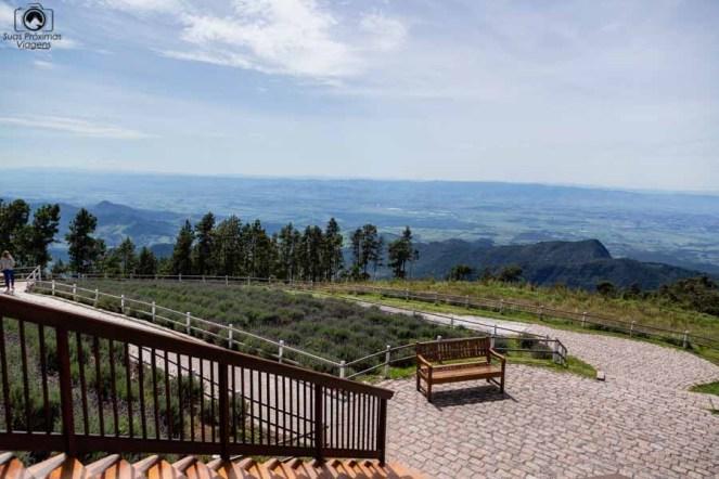 Imagem da vista desde o mirante do pico de itapeva