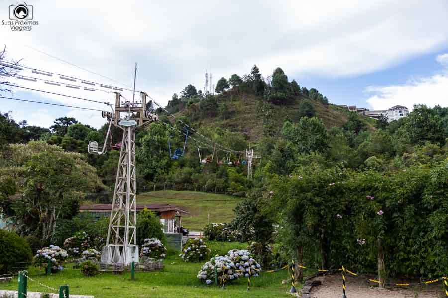 Imagem do Teleférico em Campos do Jordao SP Pontos Turisticos