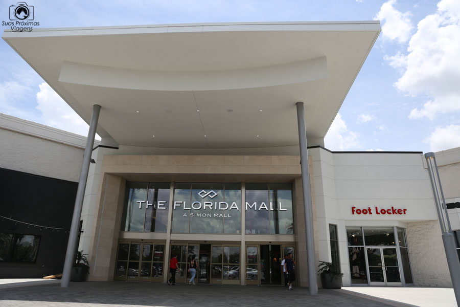 Foto da entrada do The Florida Mall em Compras em Orlando