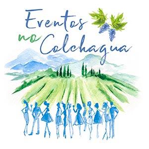 Logo do Eventos no Colchagua apoiador da Expedição Cone Sul