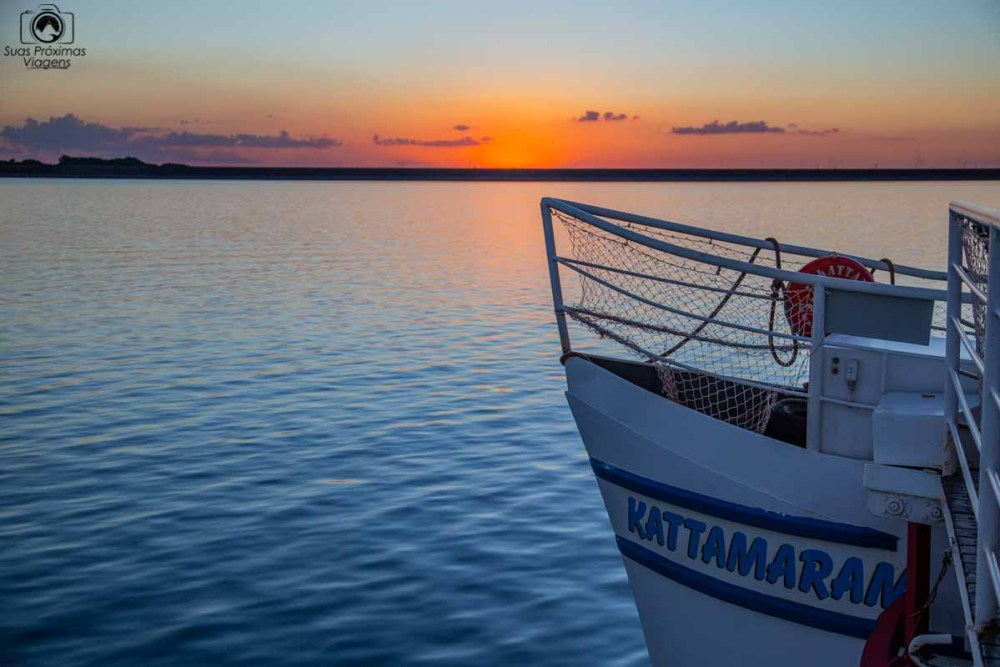 Vista da Navegação com o Katamaram