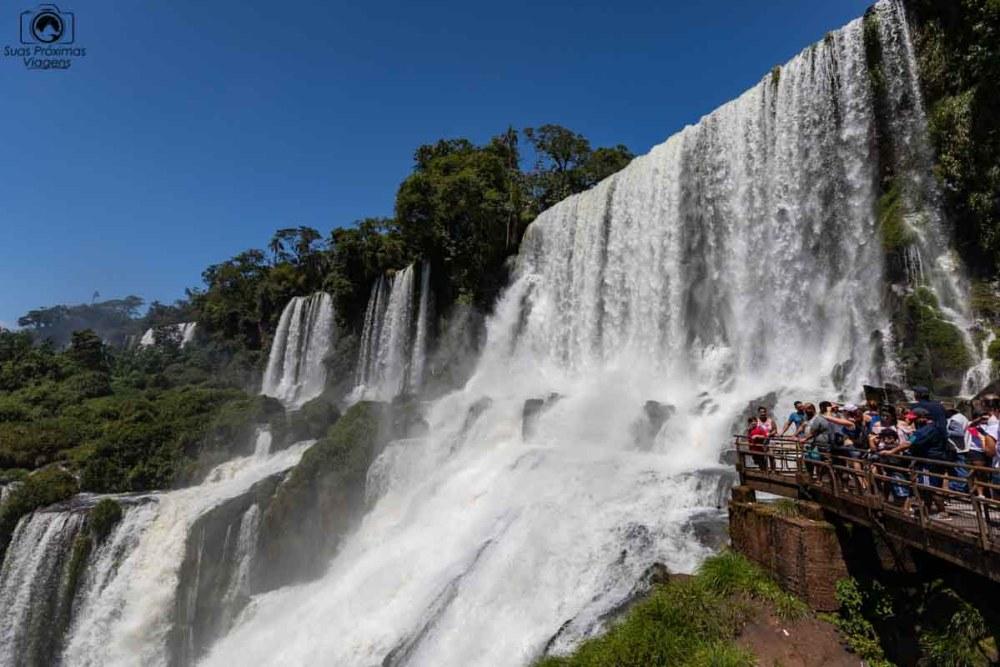 Vista das cataratas pelo lado argentino
