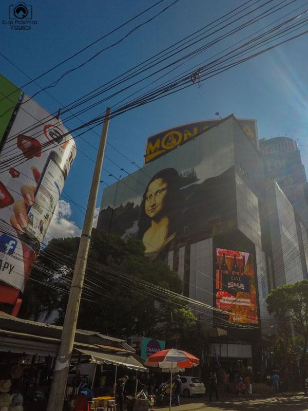 Vista externa da Loja de Departamentos Monalisa, ComprasParaguay