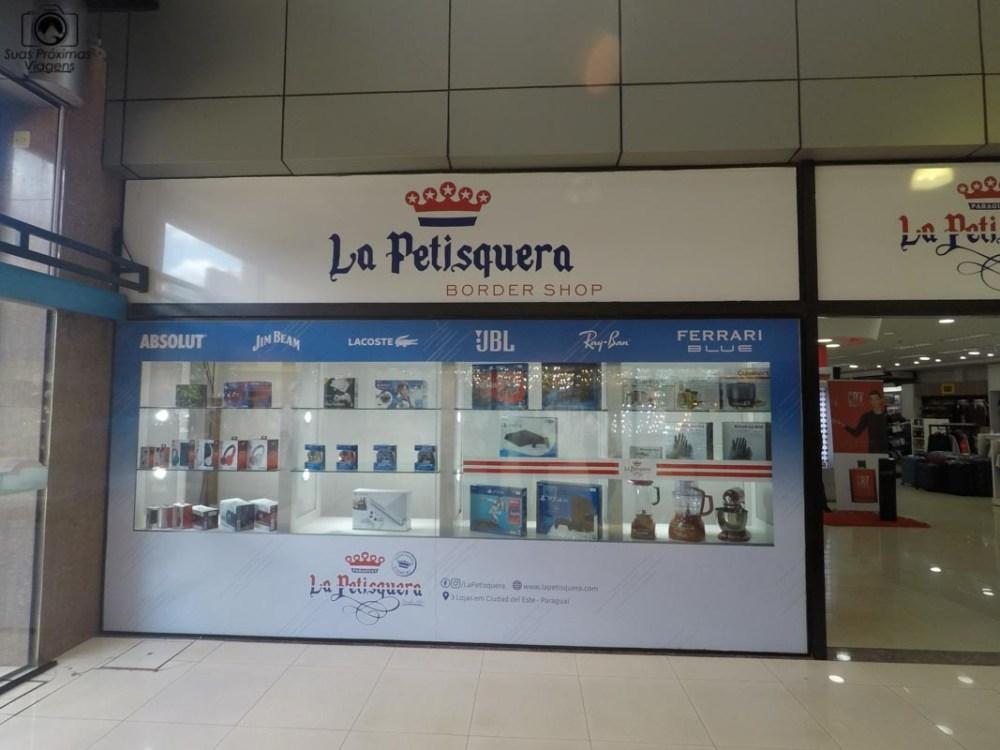 Vista da loja La Petisquera, Shopping Del Este