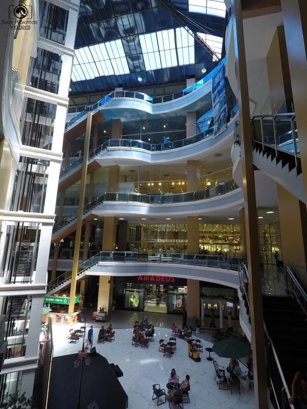 Outra vista do Interior do Shopping Paris, Ciudad del Este
