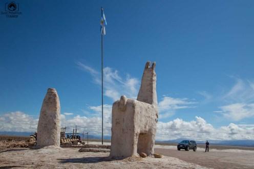 Vista das Esculturas de Sal