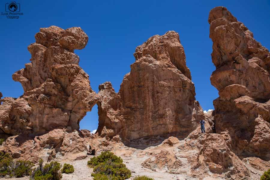Imagem da formação  Bosque de Piedra