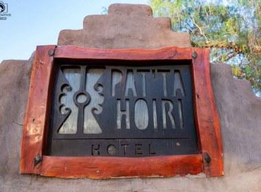 Vista da Placa do Hotel Pat'ta Hoiri