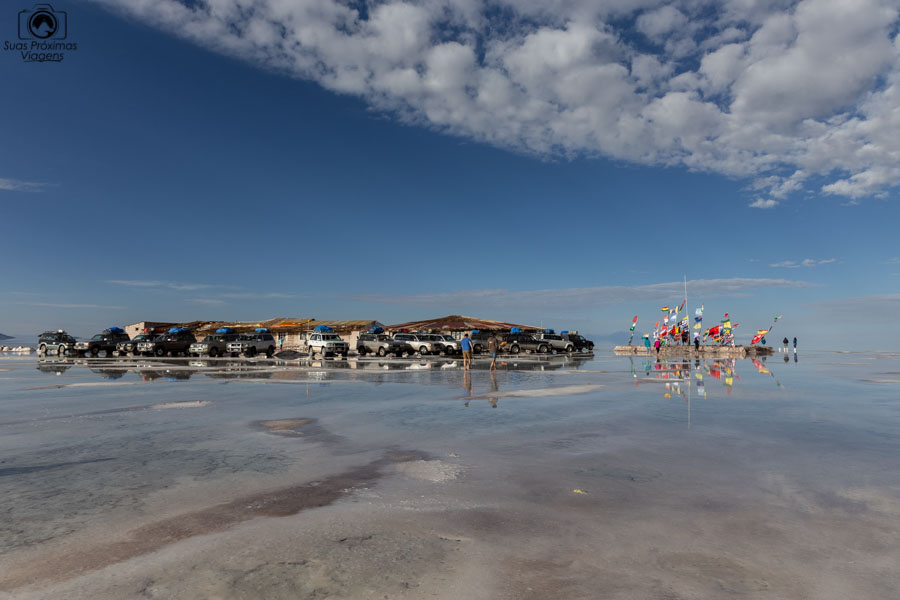Foto do Museu de Sal no Salar de Uyuni