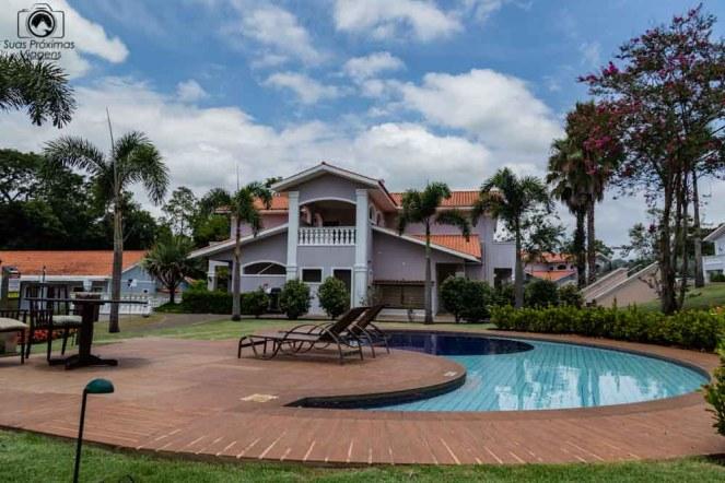 Foto das Vilas em formato americano no Wish Foz do Iguaçu