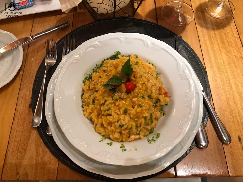 foto do risoto de frutos do mar do Wish