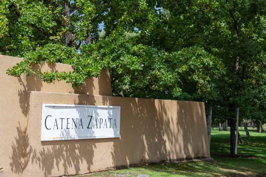 Vista da Entrada da Vinícola Catena Zapata