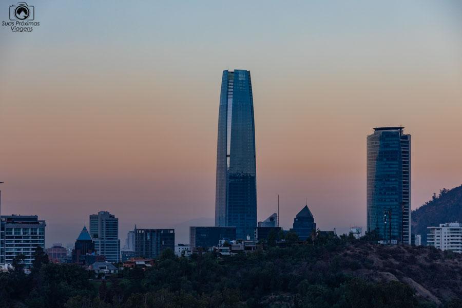 Imagem do Sky Costanera em Santiago