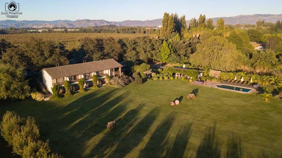 Imagem aérea do Hotel Casa de Campo