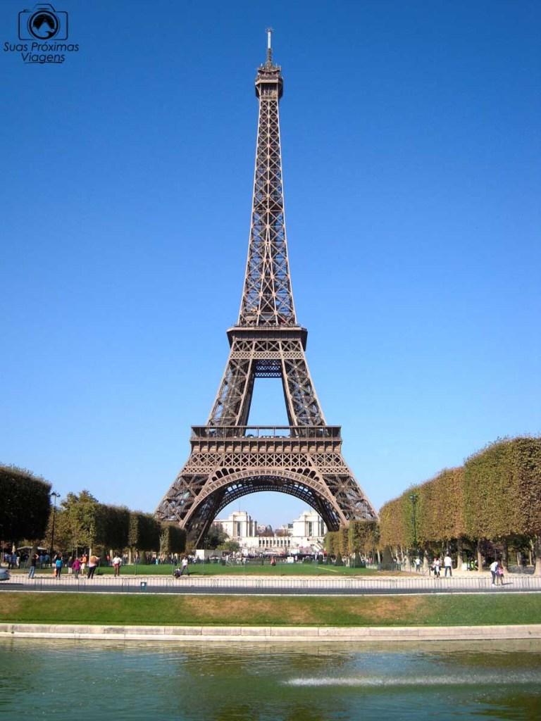 Imagem da torre eiffel em o que fazer em Paris