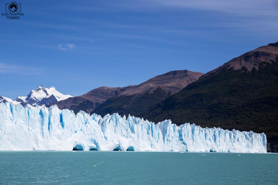 Imagem do Glaciar Perito Moreno durante navegação com a Southern Spirit