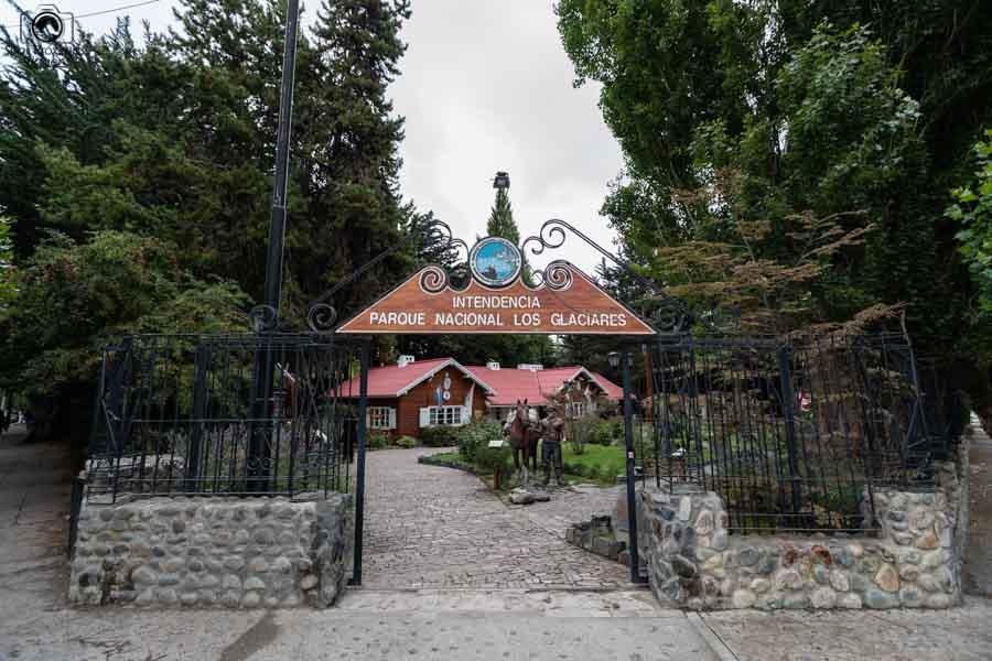 Imagem da Intendência Parque Nacional los Glaciares em El Calafate